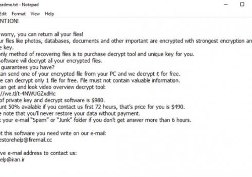 Ta bort Righ File-locking Virus