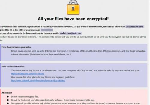 .asd ransomware Fjernelse