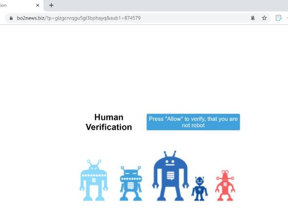 Πώς να αφαιρέσετε Toobotnews.biz