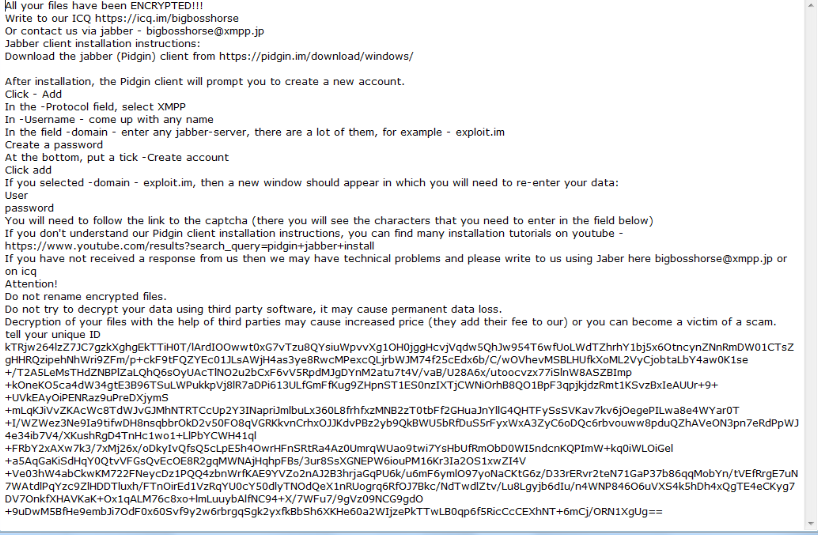AlphaBetaCrypt ransomware Odstranění
