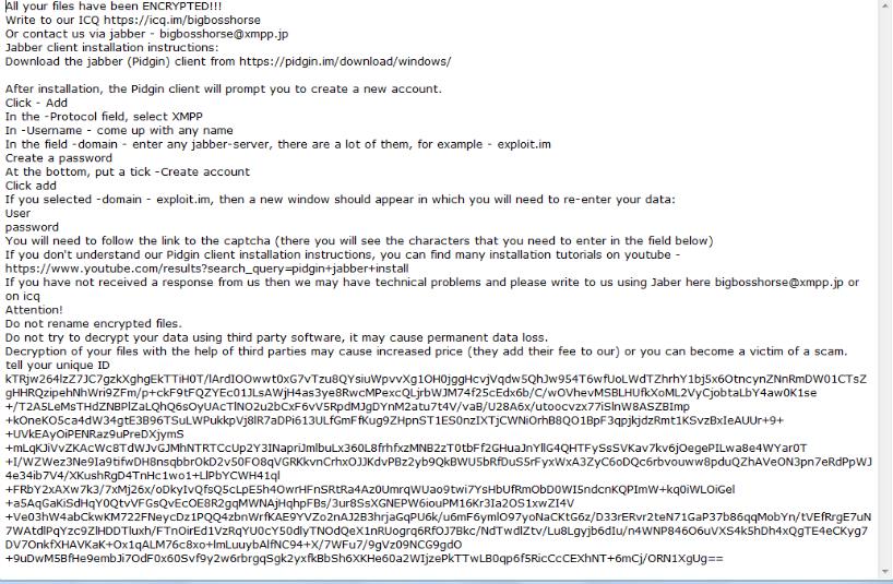 AlphaBetaCrypt ransomware กำจัด