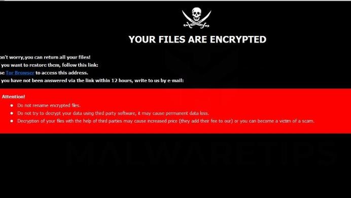 เอา .Devos ransomware