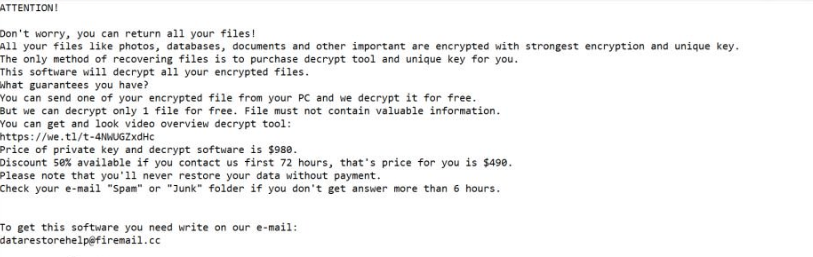 KODC extension ransomware