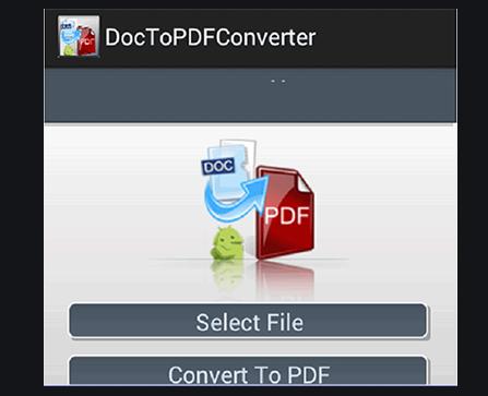 PDF Concverter App