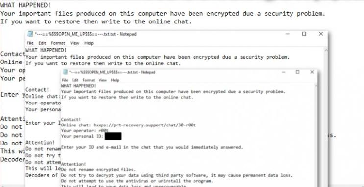 _R00t_ Njkwe ransomware