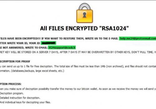 Eliminar Ragnarok ransomware