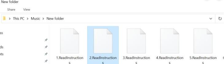 ReadInstructions ransomware