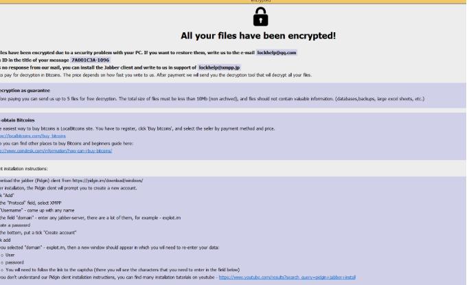 SatanCryptor ransomware