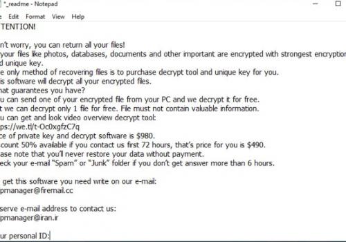 Eltávolít .Topi extension ransomware