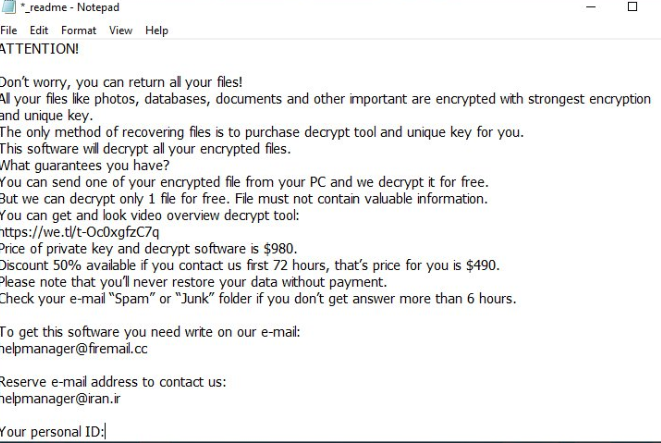 Remove .Topi extension ransomware