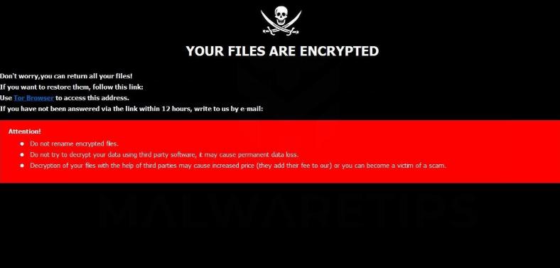 Fjerne [Writehere@onlinehelp.host].harma ransomware