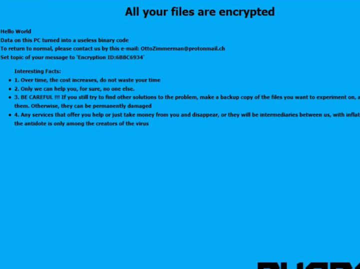 Rimuovere Blend ransomware
