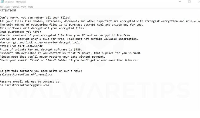 Fjerne Coom ransomware