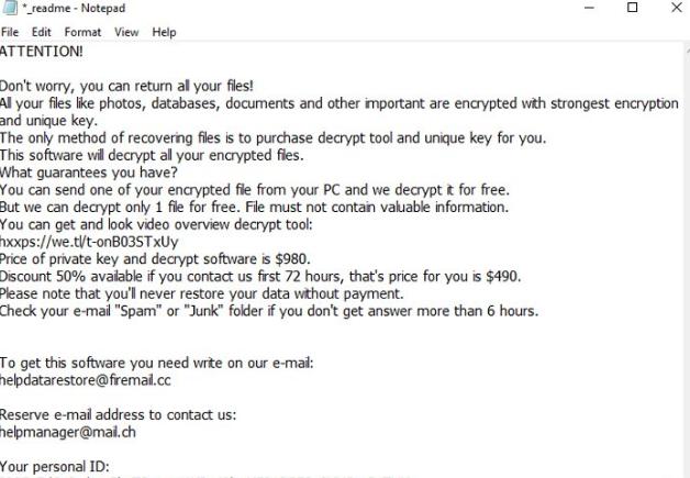 Remove MMNN ransomware