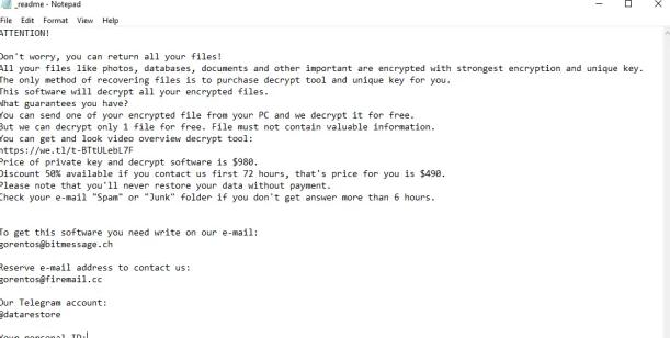 Eltávolít OOSS ransomware