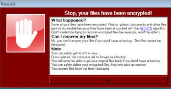 PassLock file ransomware