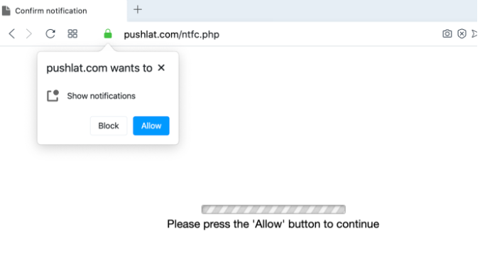 Eltávolít Pushlat.com