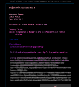 Truva: Win32/Occamy.C kaldırma