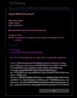 Trójai:Win32/Occamy.C eltávolítása
