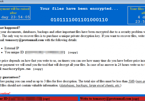 Usunąć Uk6ge ransomware