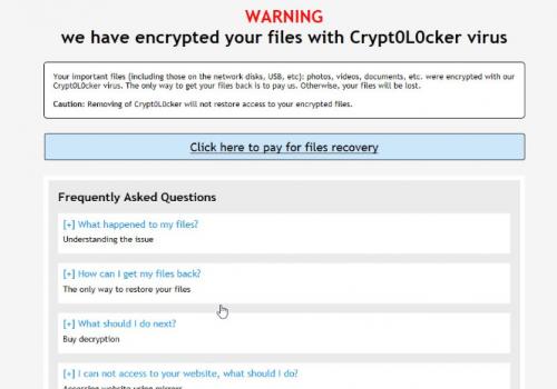 Usunąć .encrypted file virus