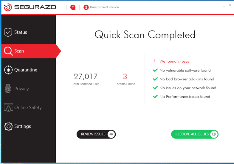 Segurazo Antivirus suppression Steps [2020]