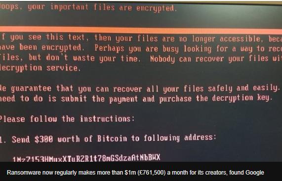 google ransomware