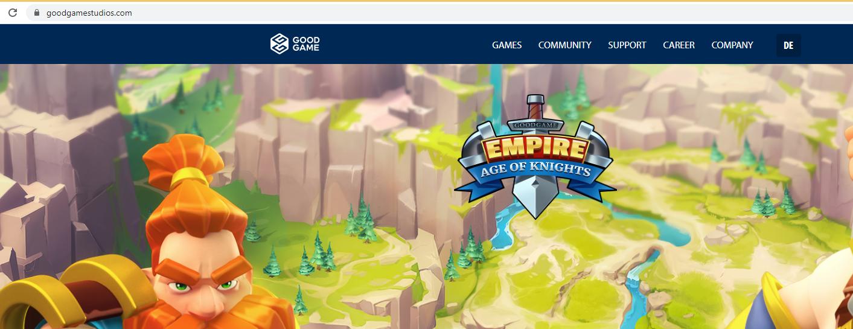 Goodgamestudios.com Удаления