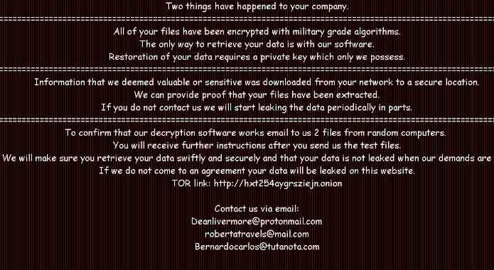 Fjerne NEPHILIM ransomware