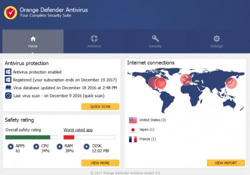 Retirer Orange Defender Antivirus