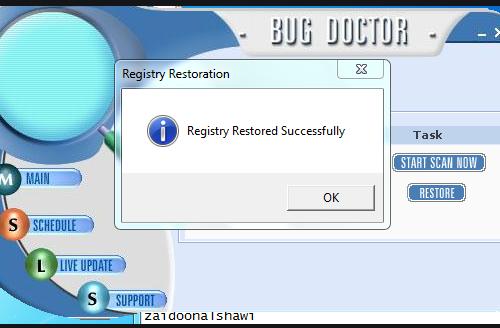 Retirer PC Bug Doctor