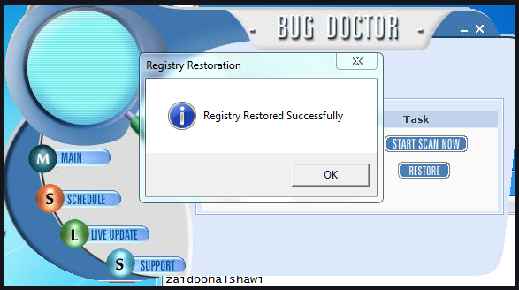 Удалить PC Bug Doctor