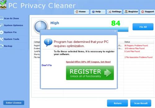 Odebrat Smart PC Privacy Cleaner Pro