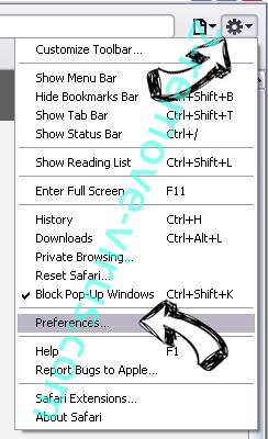 Search.hwatch-tvonline.com Safari menu