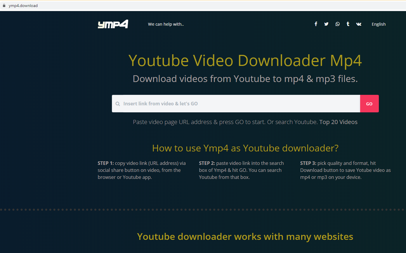 Eliminar ymp4.download
