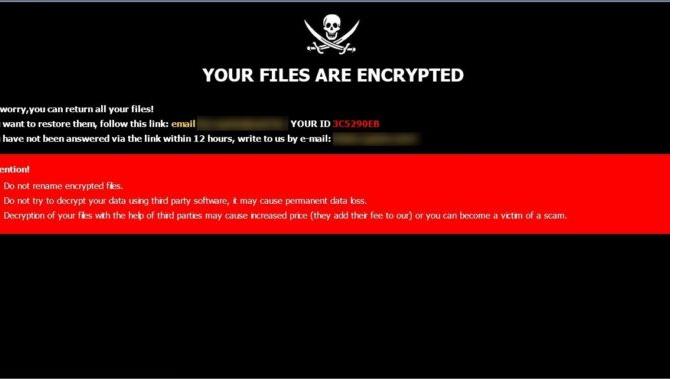 BANG ransomware Poisto