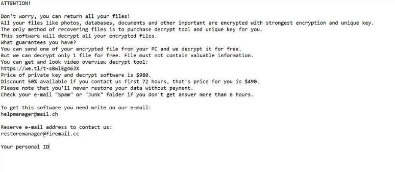 ازاله COVM ransomware