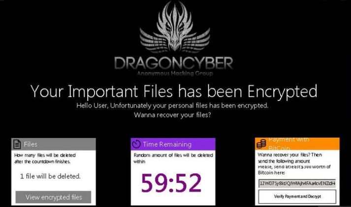 DragonCyber ransomware