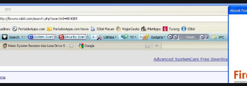 Remove IObitCom Toolbar