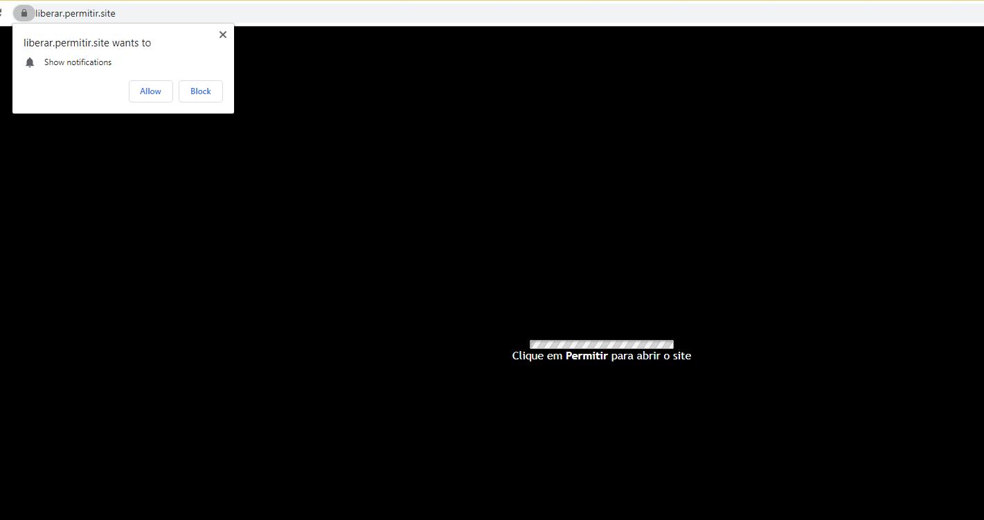 ลบ Liberar.permitir.site virus