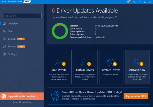 Retirer Quick Driver Updater