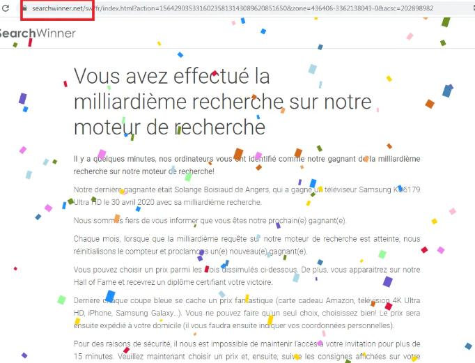 Fjerne Searchwinner.net