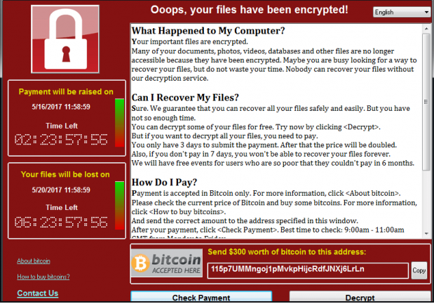Solider ransomware