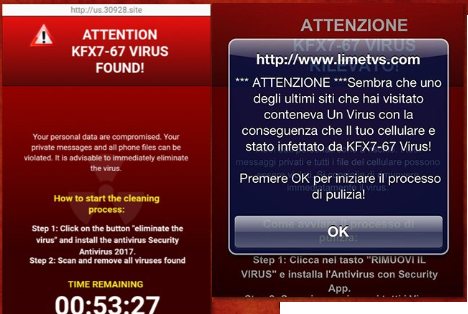 Kfx7-67 virus informations de suppression