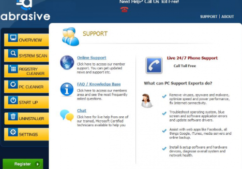 Abrasive App – How to remove