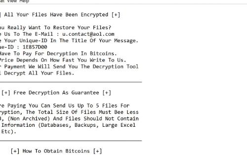 Menghapus CoronaCrypt ransomware