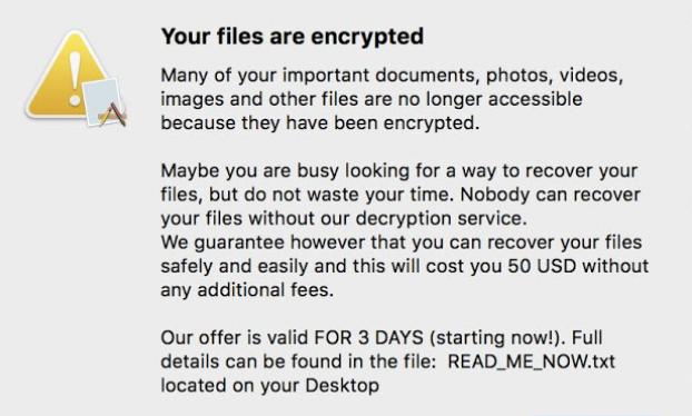 EvilQuest ransomware