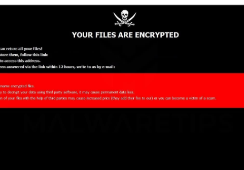 Odebrat GNS ransomware