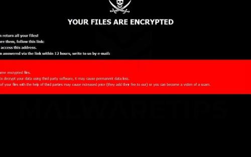 Odebrat Gyga ransomware