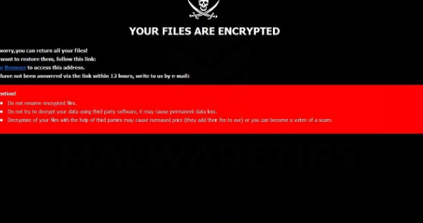 Fjerne Gyga ransomware